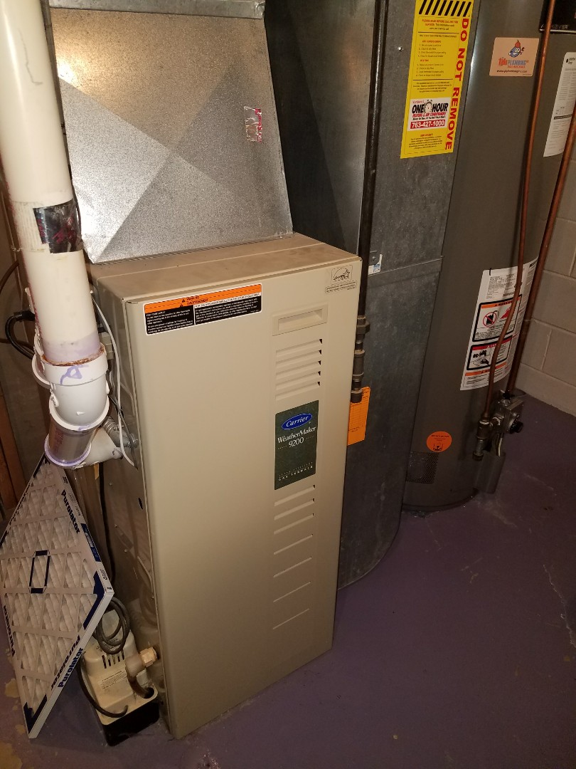 Maple Grove, MN - No heat on Carrier furnace
