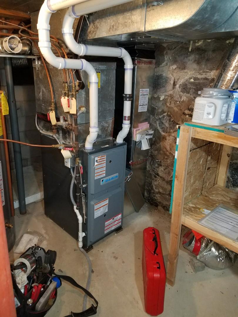 Saint Michael, MN - Daikin furnace tune up and clean