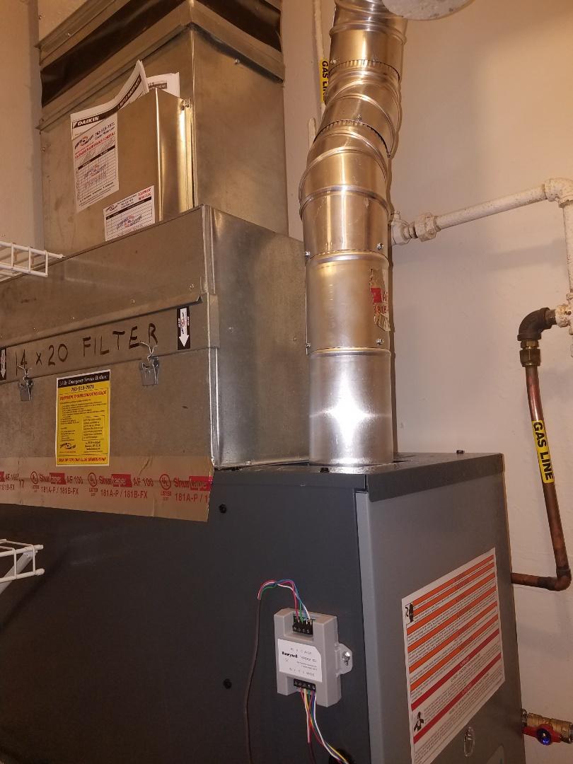 Albertville, MN - New furnace install