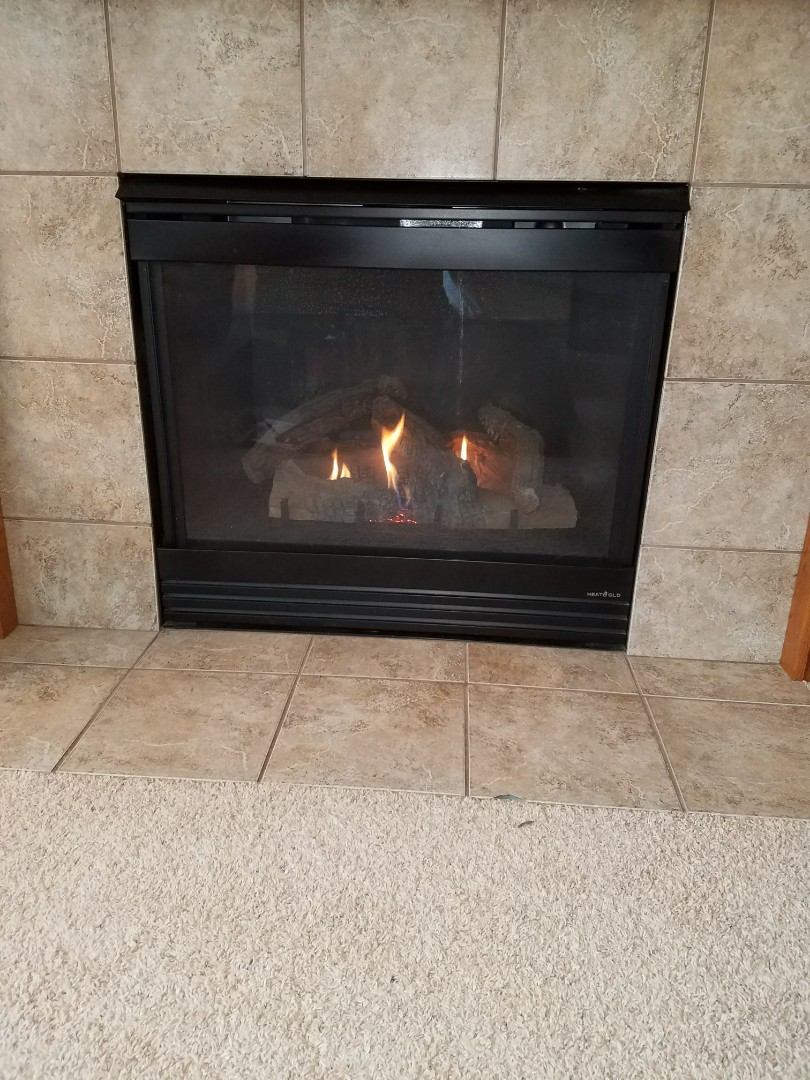 Albertville, MN - Heat n glo fireplace tune up and clean