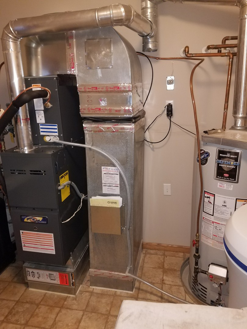 Maple Grove, MN - ? New furnace installation