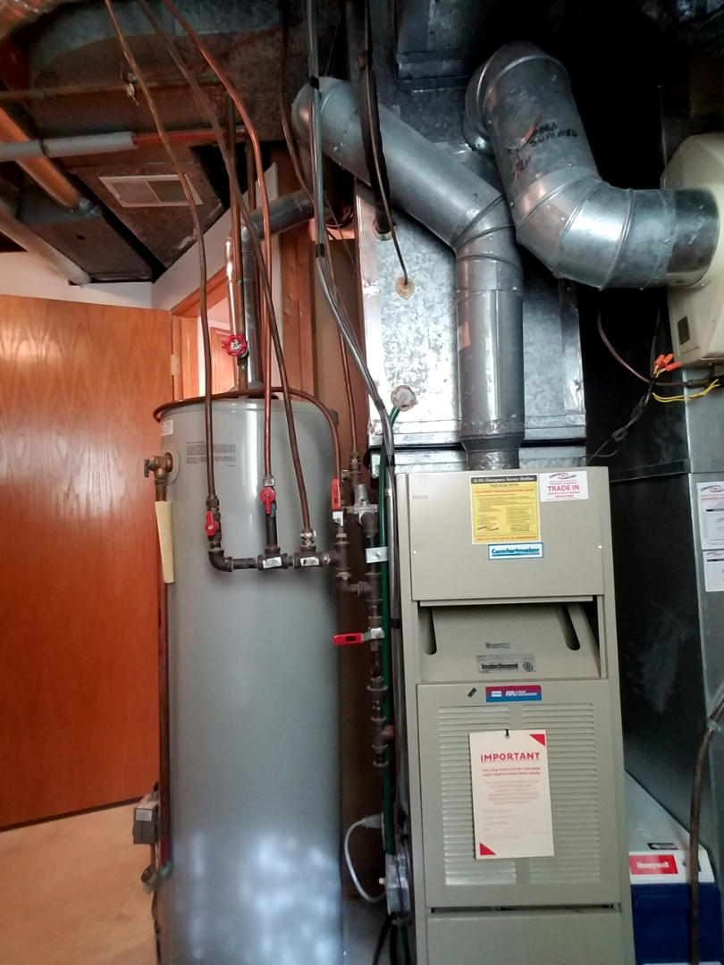 how to clean up furnace