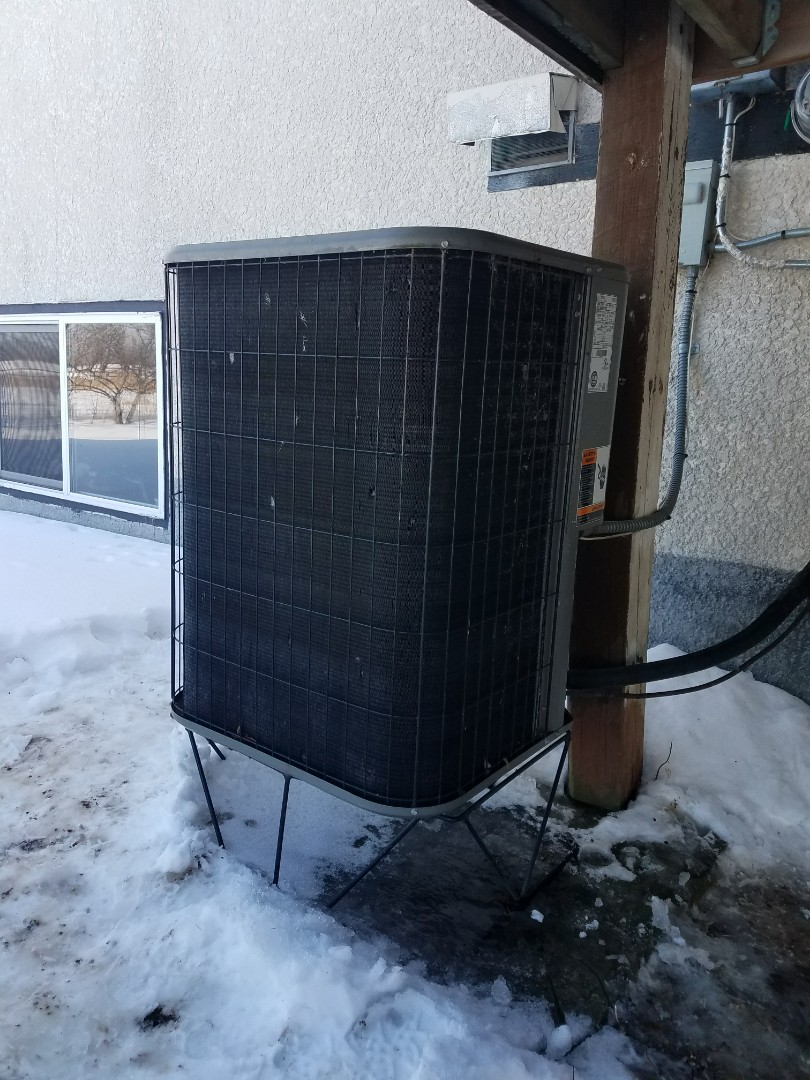 Monticello, MN - Found bad heat pump fan motor