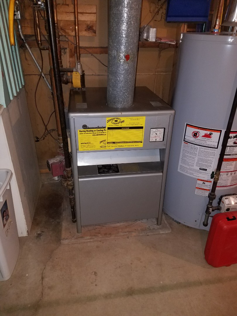 Osseo, MN - Boiler tune up and clean