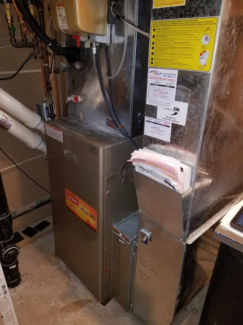 Eden Prairie, MN - Bryant furnace no heat