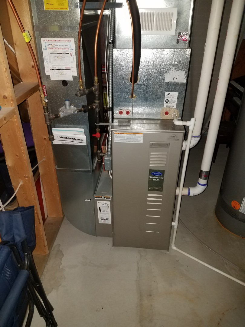 Watertown, MN - Furnace cleaning and tune up on a Carrier