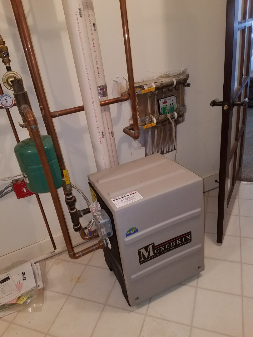 Corcoran, MN - Munchkin boiler issues