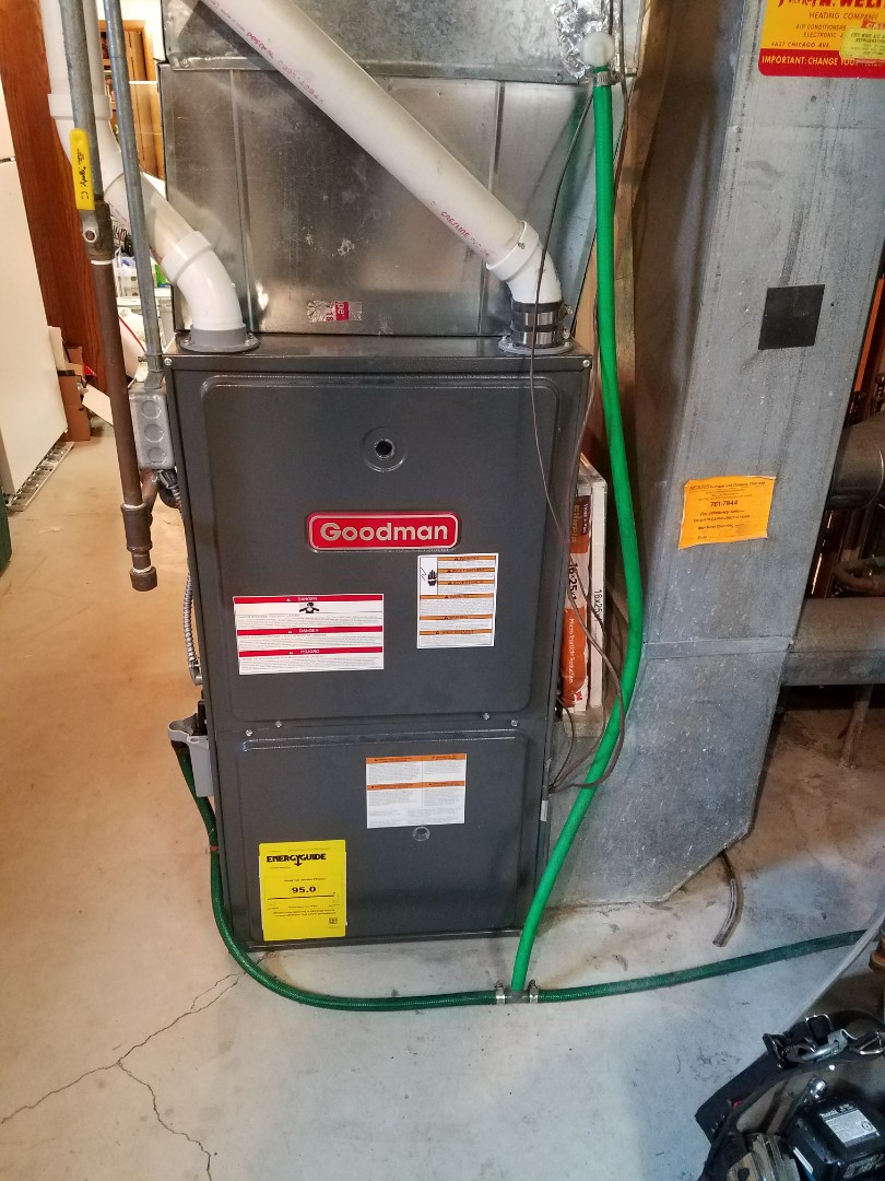 Hanover, MN - Comfort matters furnace tune up and clean