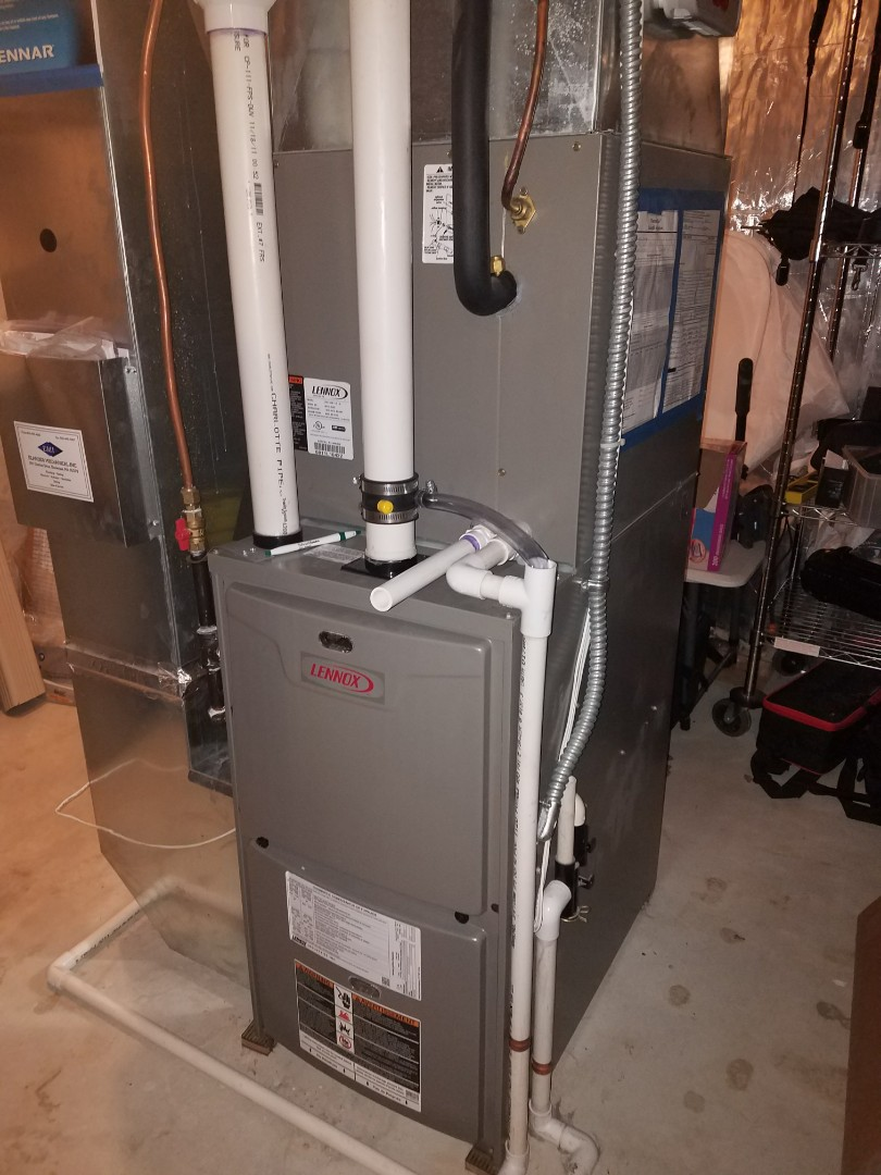 Maple Grove, MN - Faulty exhaust motor assembly on Lennox furnace