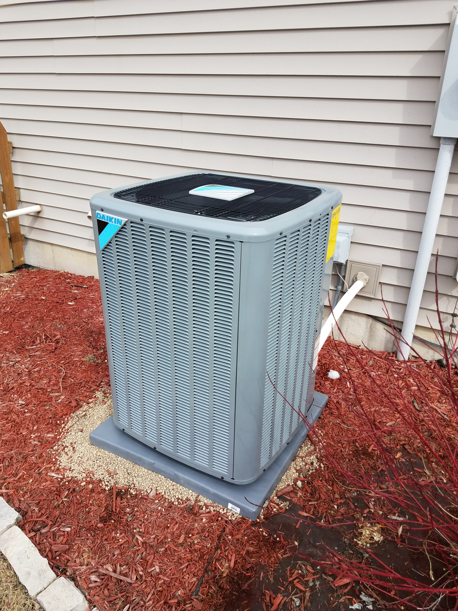 Saint Michael, MN - Install Daikin furnace and air conditioner along with pure air X UV light