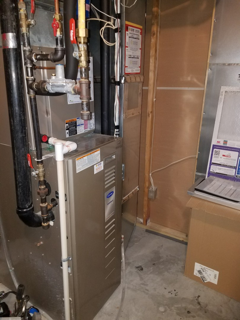 Saint Michael, MN - Carrier furnace tune up and clean