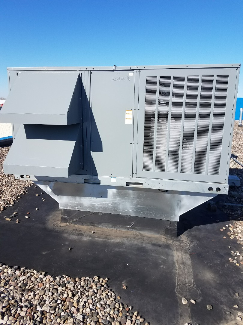 Monticello, MN - Installed a new Daikin rooftop unit