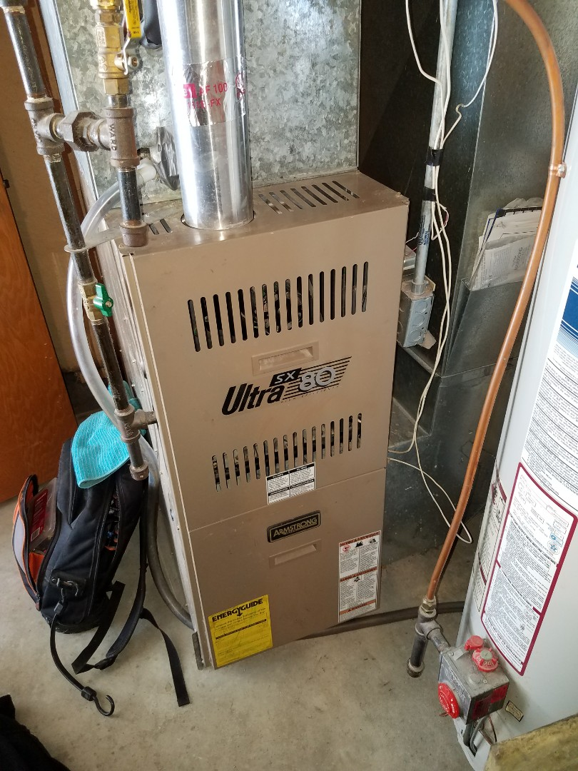 Elk River, MN - Furnace tune up on 80% Armstrong unit in Elk River