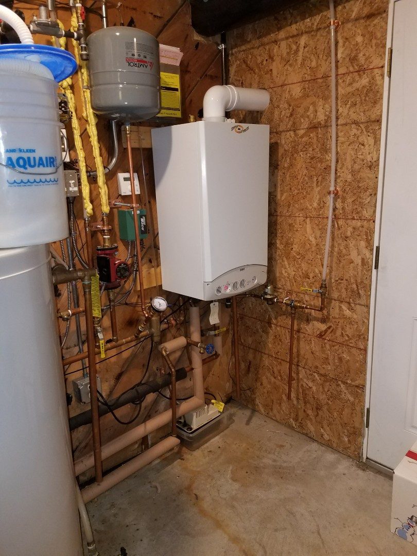 Golden Valley, MN - Baxi Boiler repair and heat exchanger cleaning