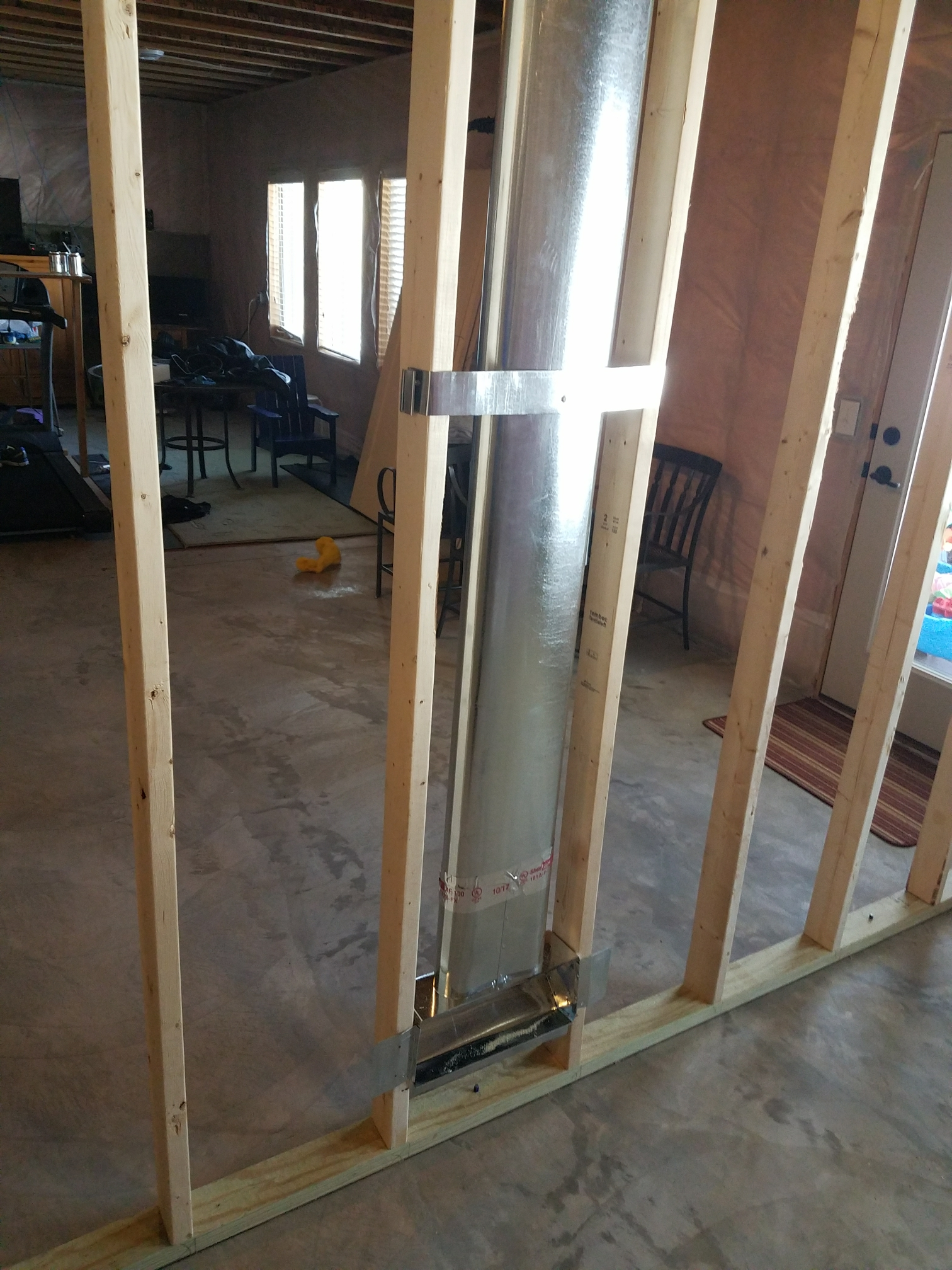 Saint Michael, MN - Install new duct work for house addition