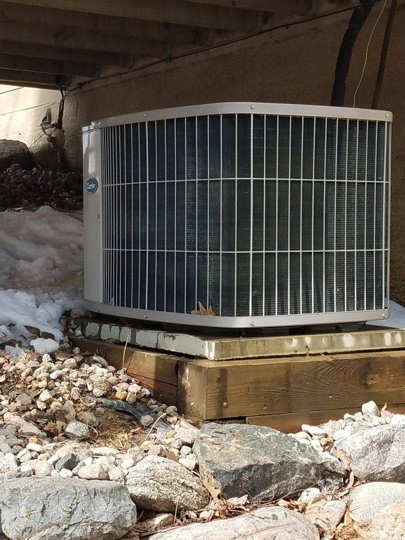 Independence, MN - Performed tune up and cleaning on Carrier air conditioner