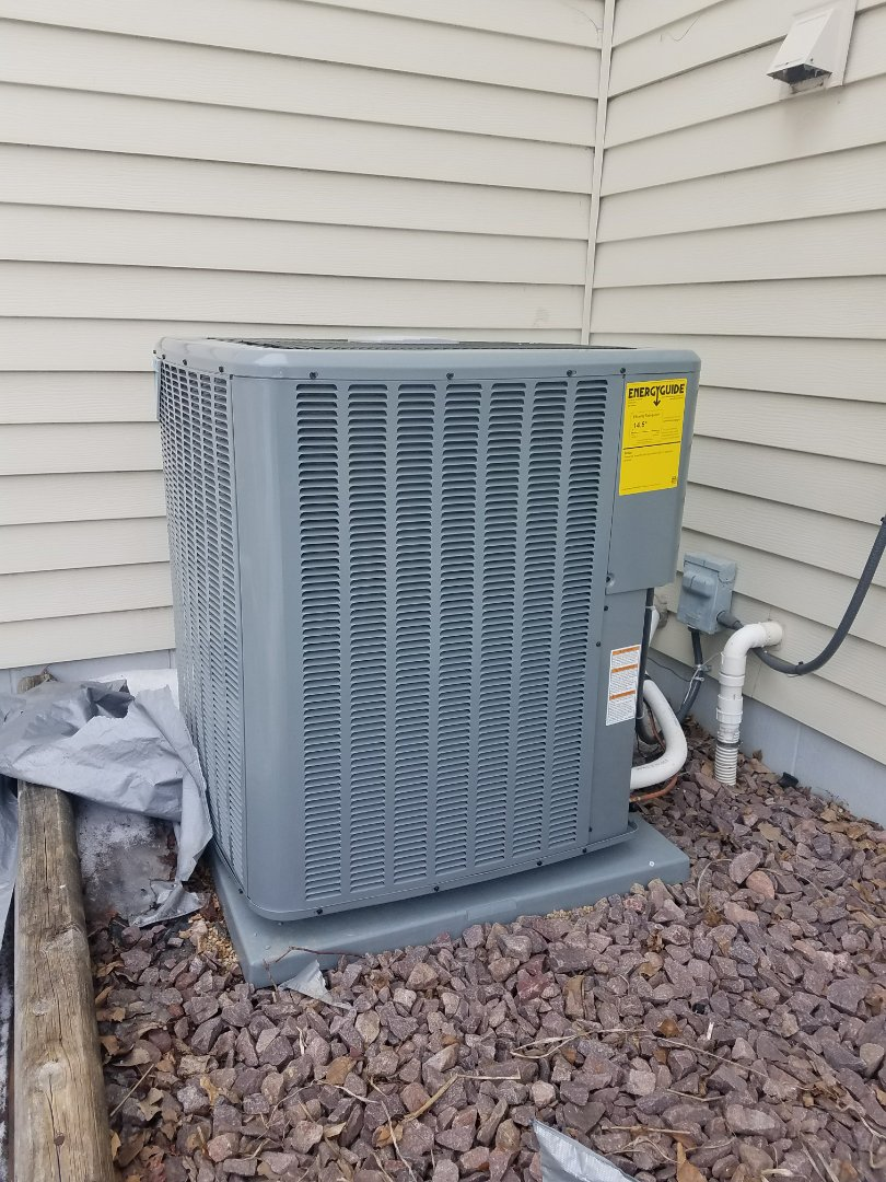 Maple Grove, MN - Performed tune up and cleaning on Goodman air conditioner