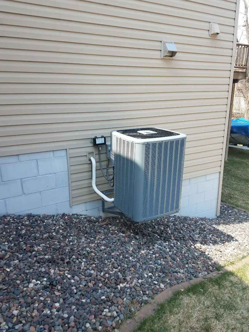 Hanover, MN - Furnace and AC install