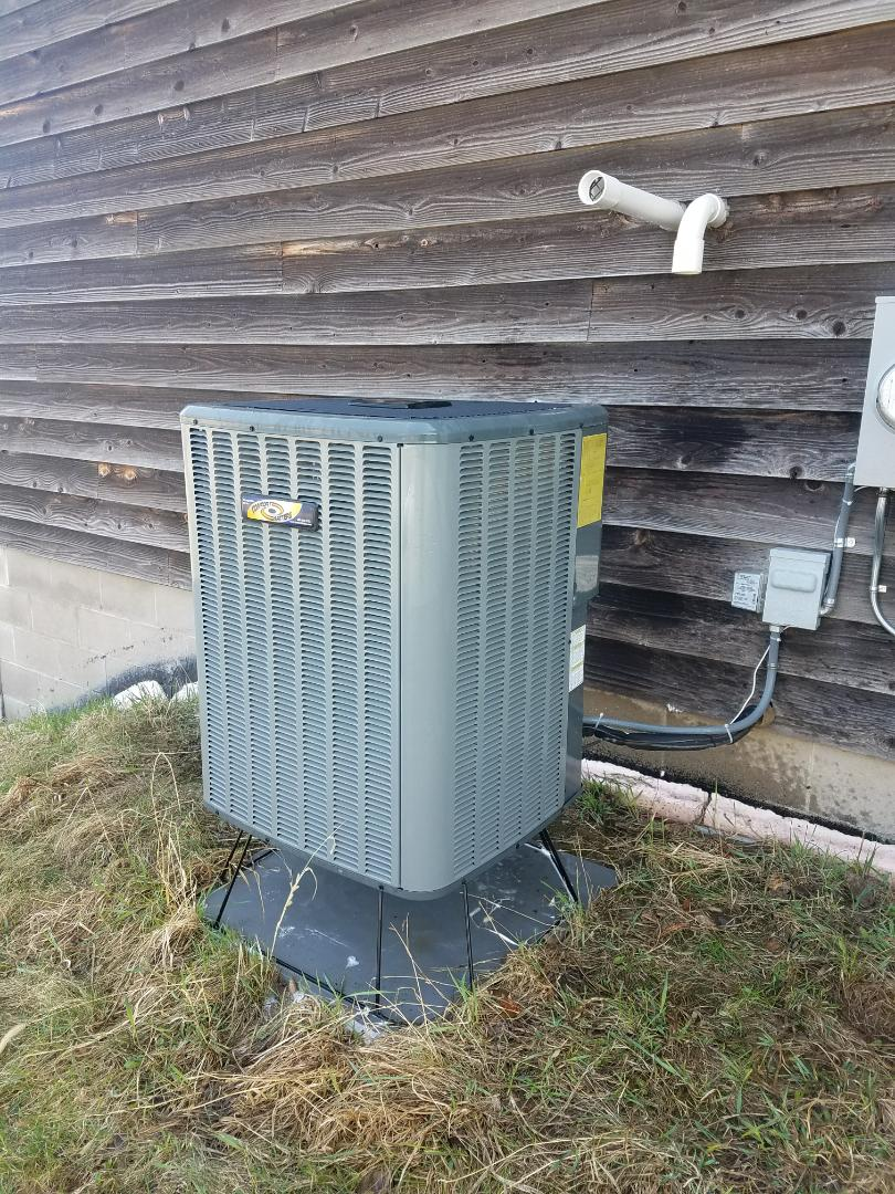 Corcoran, MN - Performed tune up and cleaning on Goodman air conditioner
