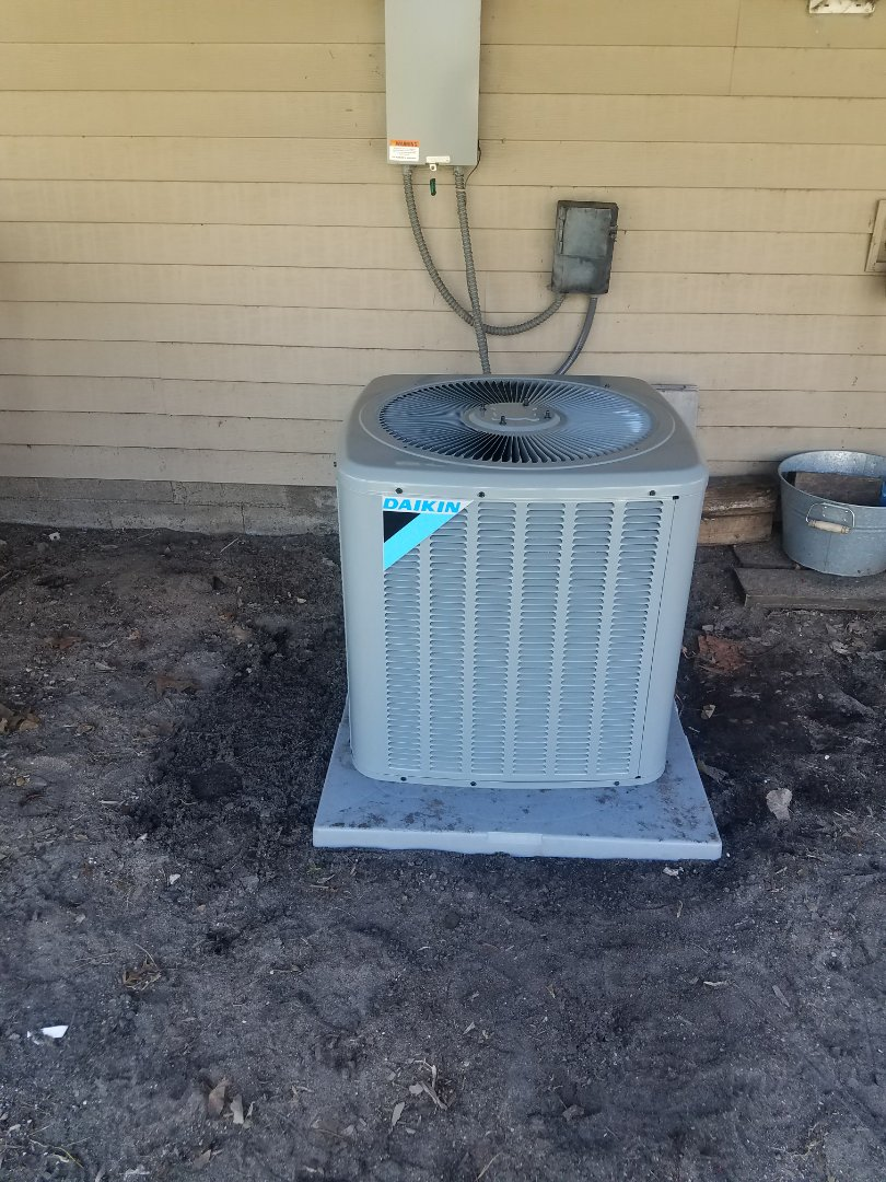 Andover, MN - New AC install
