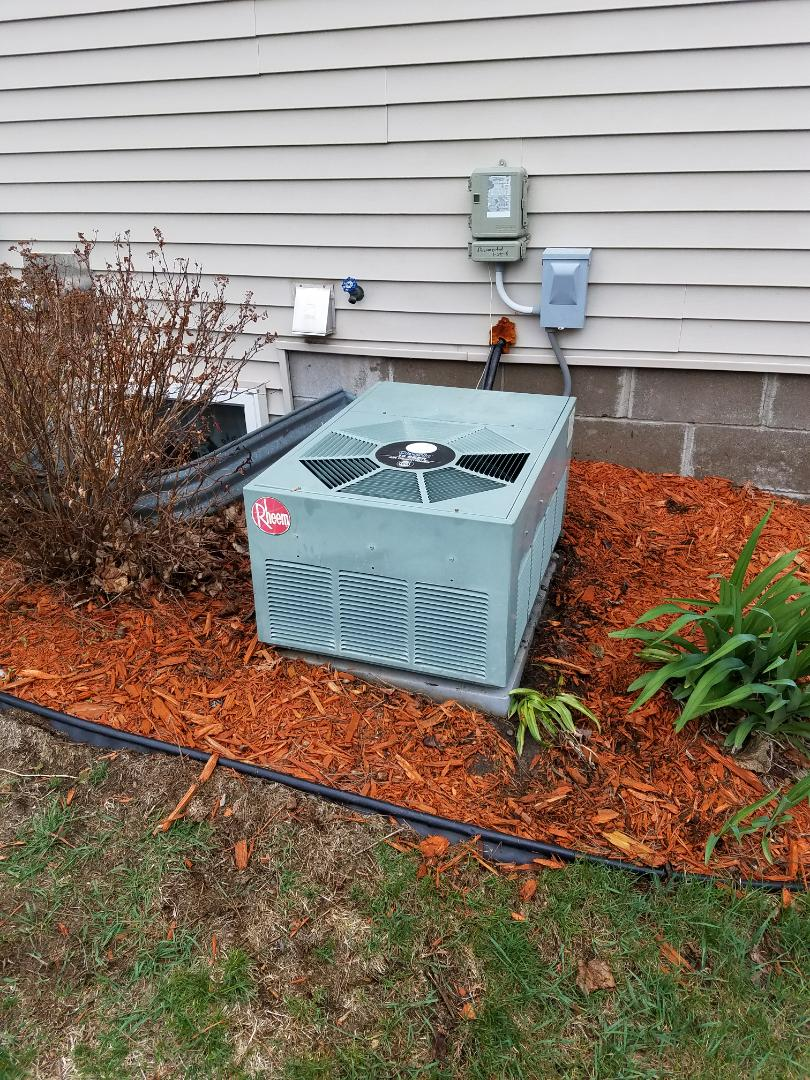 Elk River, MN - Rheem ac tune up and clean