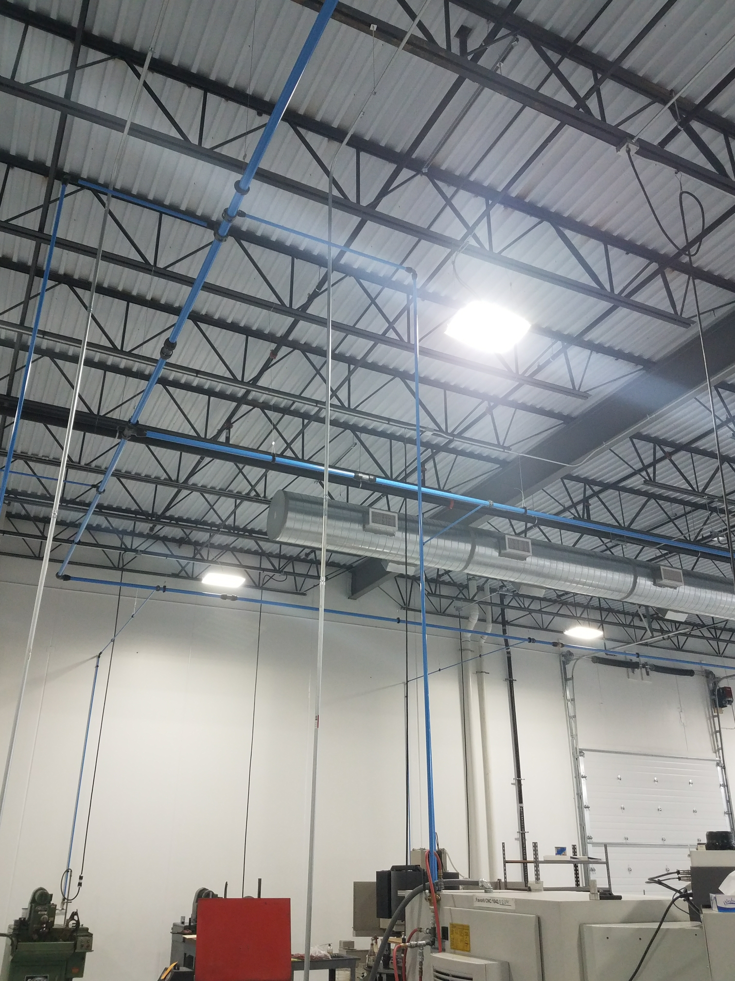 Osseo, MN - Install airnet piping