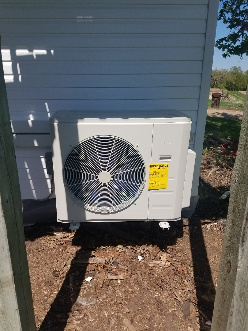 Hanover, MN - New Bryant ductless  system install