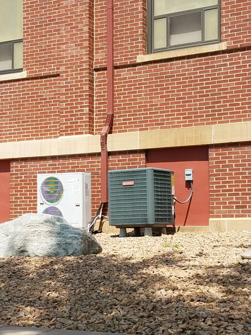 Buffalo, MN - A/C tune up and clean on multiple condensing units in buffalo