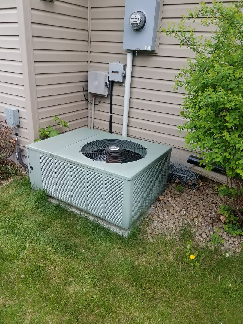 Otsego, MN - Ruud A/C low on refrigerant