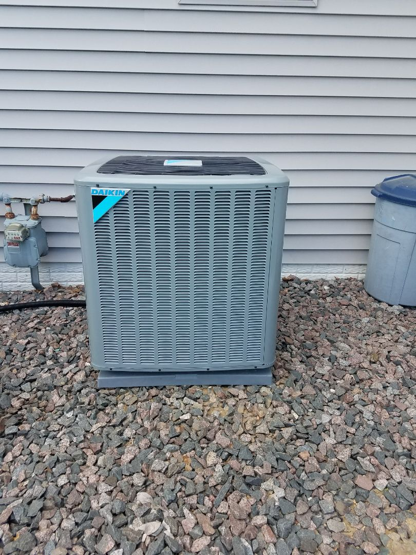 Maple Grove, MN - New Daikin Furnace and Air Conditioner install