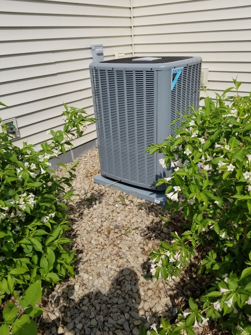 Hanover, MN - New  Air conditioner install