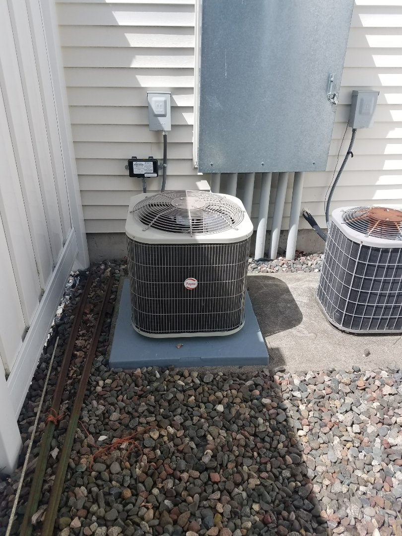 Osseo, MN - New Payne furnace and AC install