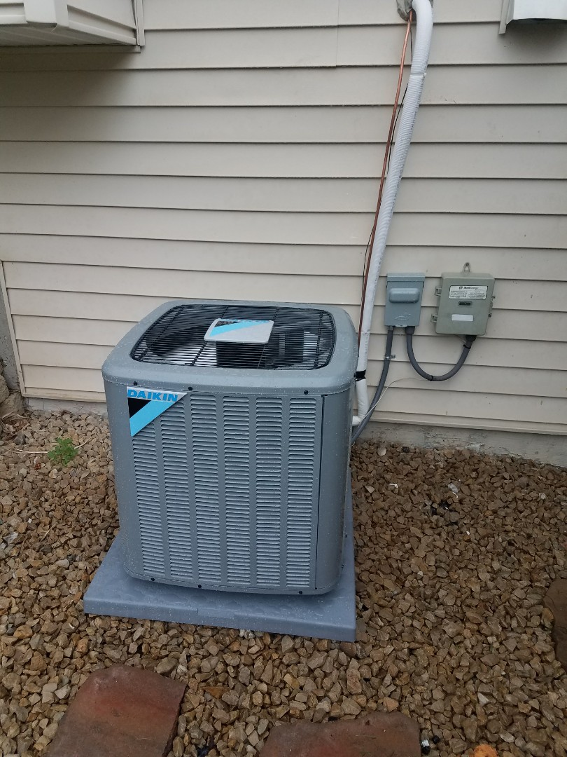 Rogers, MN - New Daikin Furnace and AC install