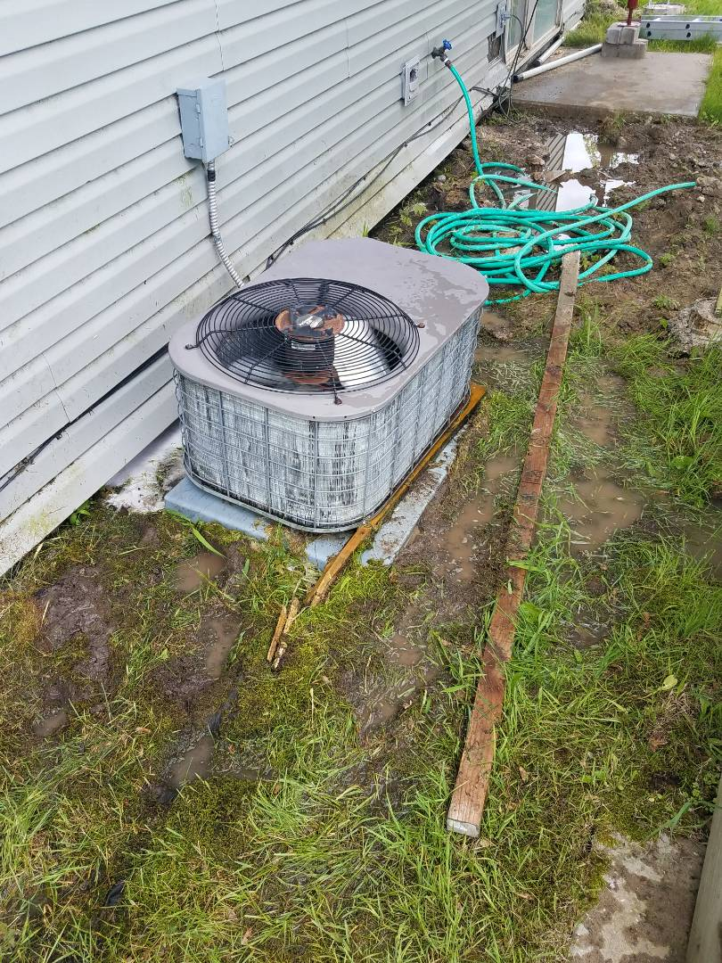 Rogers, MN - A/C tune up on Luxaire unit in St. Michael