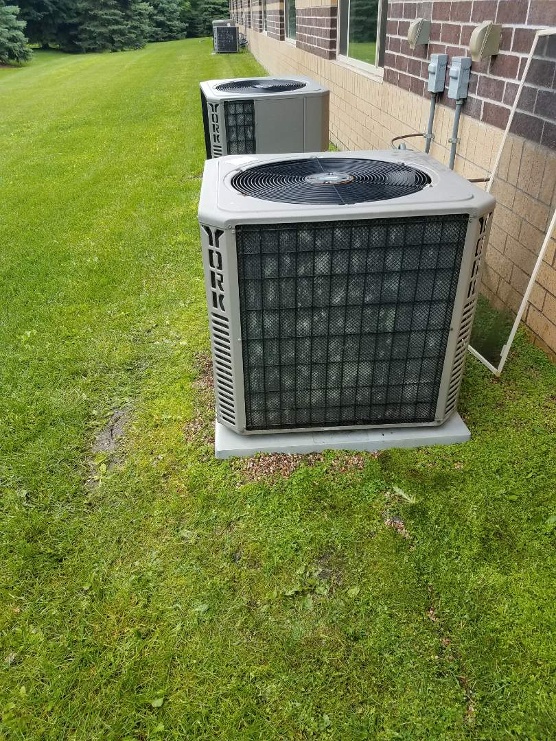 Minneapolis, MN - A/C tune up on York condensing unit in Brooklyn park