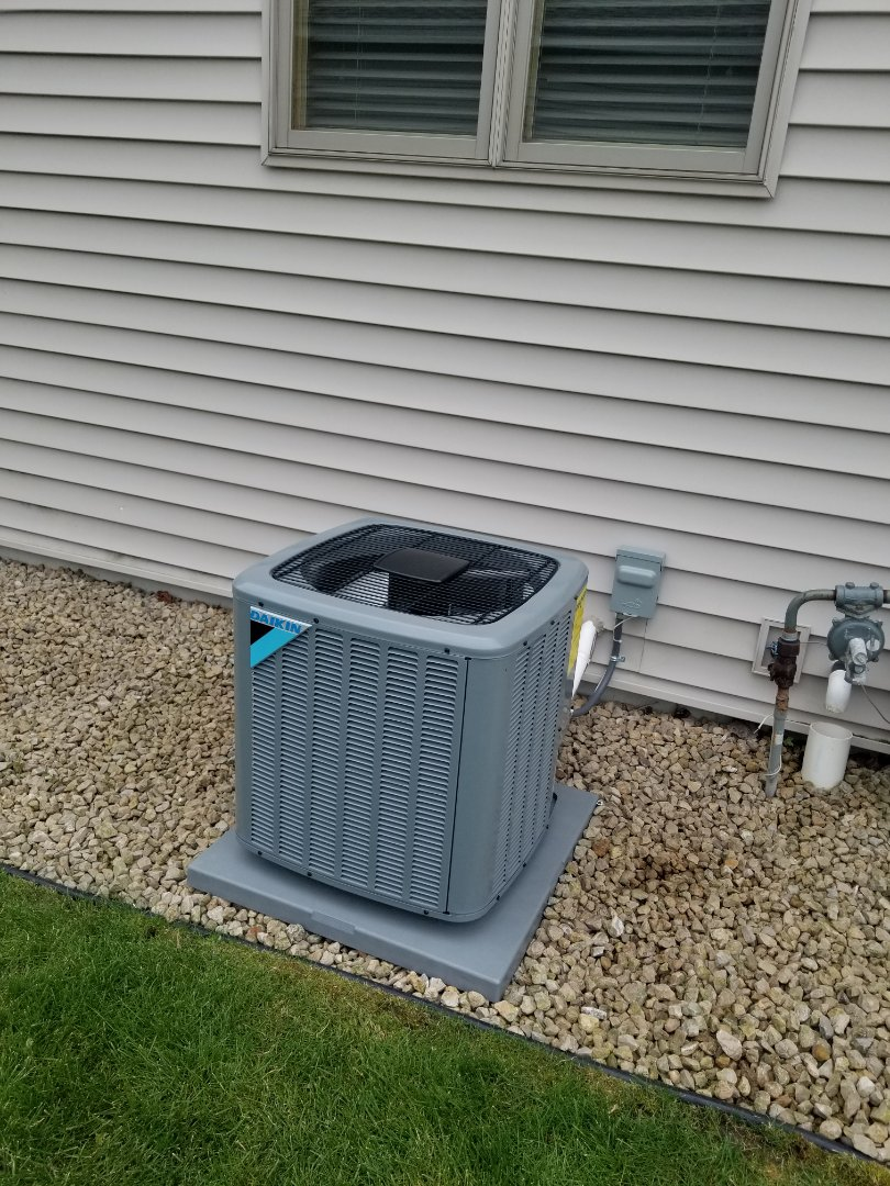 Minneapolis, MN - New furnace and air conditioner installed