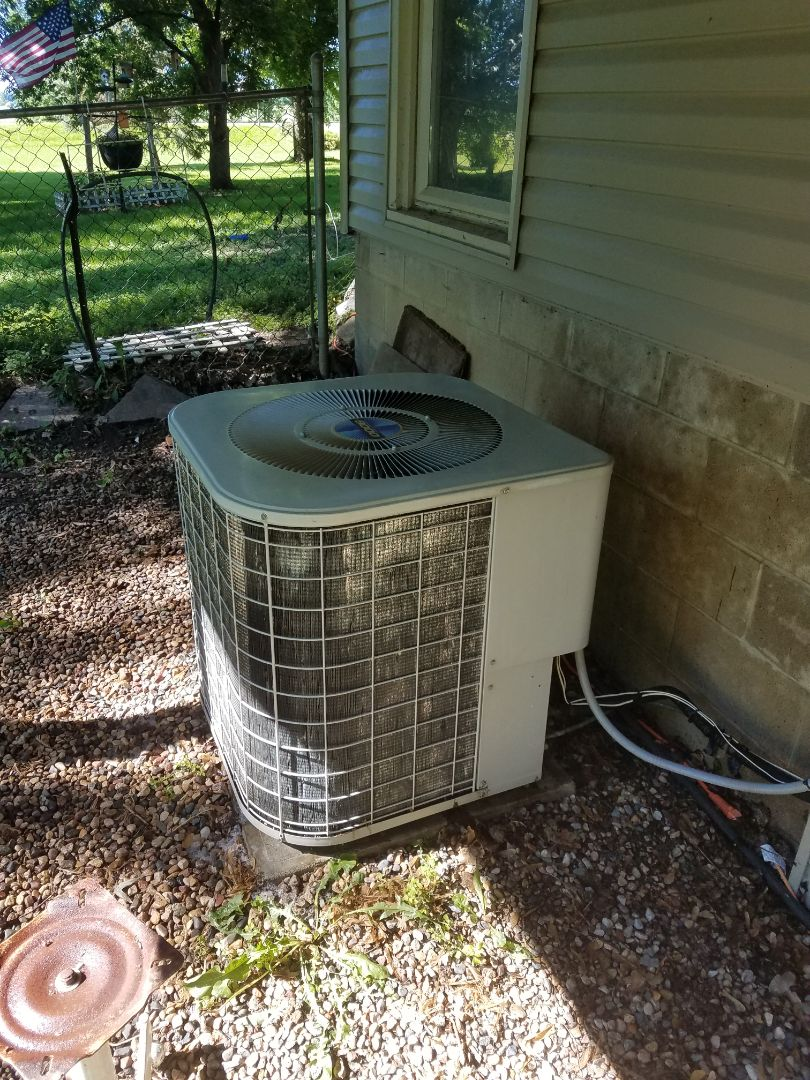 Corcoran, MN - Heil ac tune up and clean