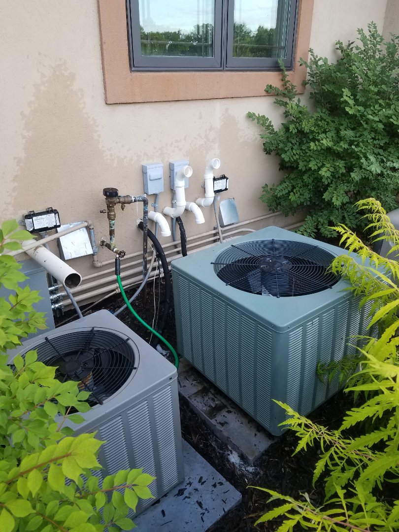 Maple Plain, MN - Rheem ac no cool. Replace contactor and perform spring tune up and 2 systems