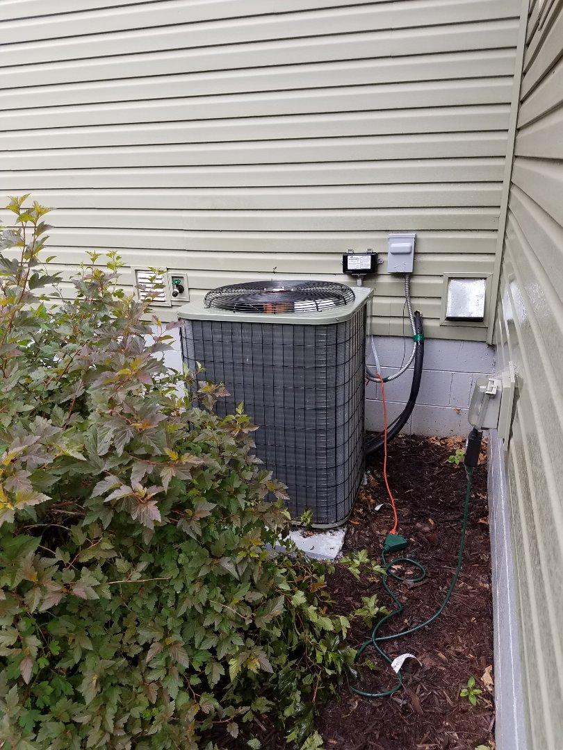 Hanover, MN - A/c tune up and clean on Payne unit in Hanover.