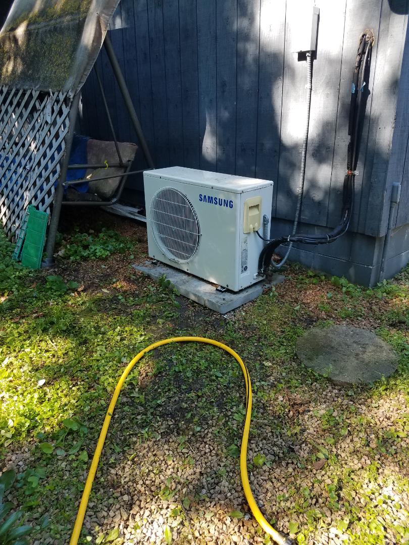 Rockford, MN - Mini split tune up on Samsung unit in Rockford