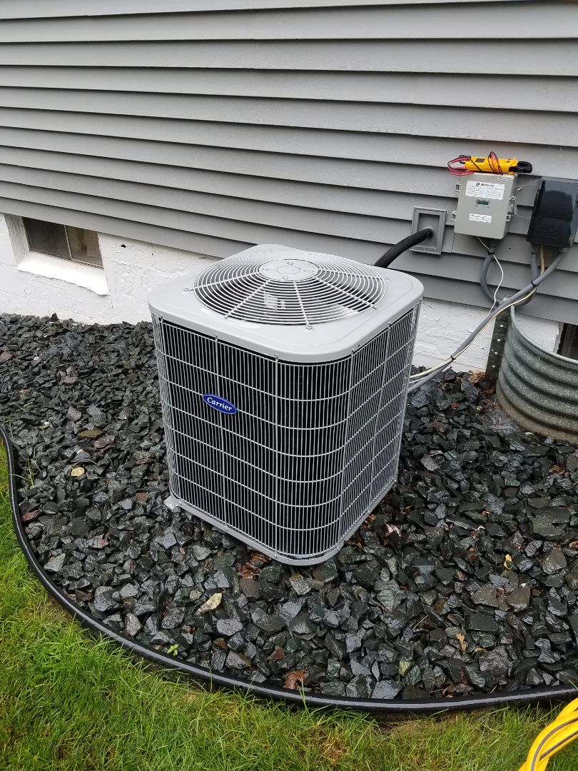 Plymouth, MN - A/c tune up and clean on  carrier condenser unit in plymouth