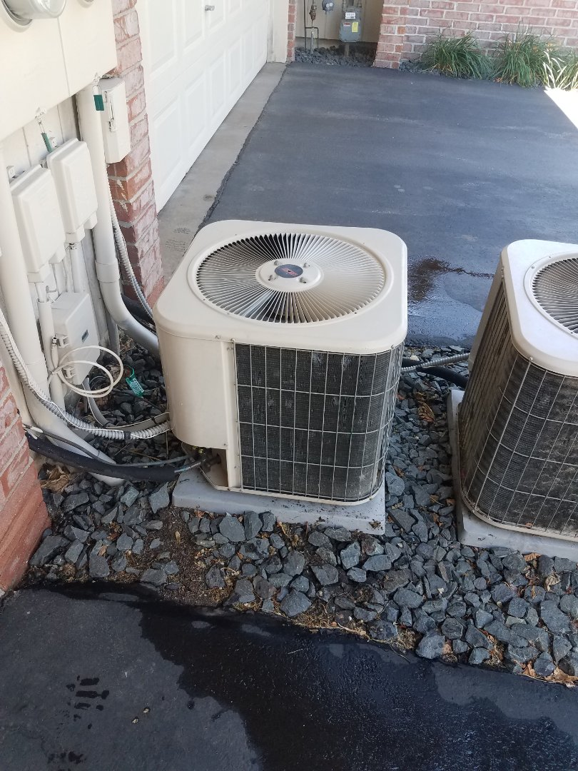 Saint Michael, MN - A/C tune up and clean on Lennox unit in St. Michael