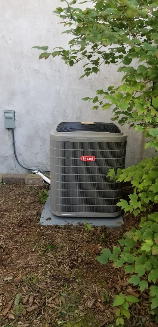 Loretto, MN - New Bryant Evolution HVAC system install