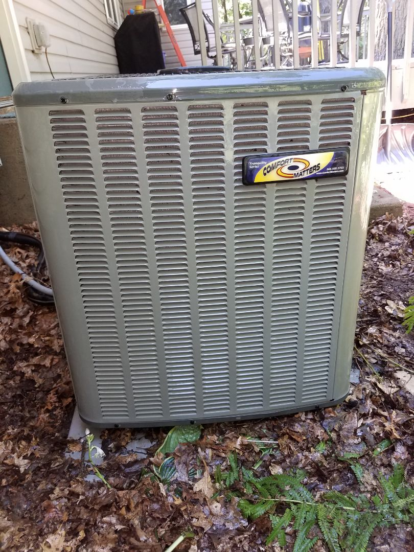 Elk River, MN - Air conditioning tune up and cleaning on amana air conditioner