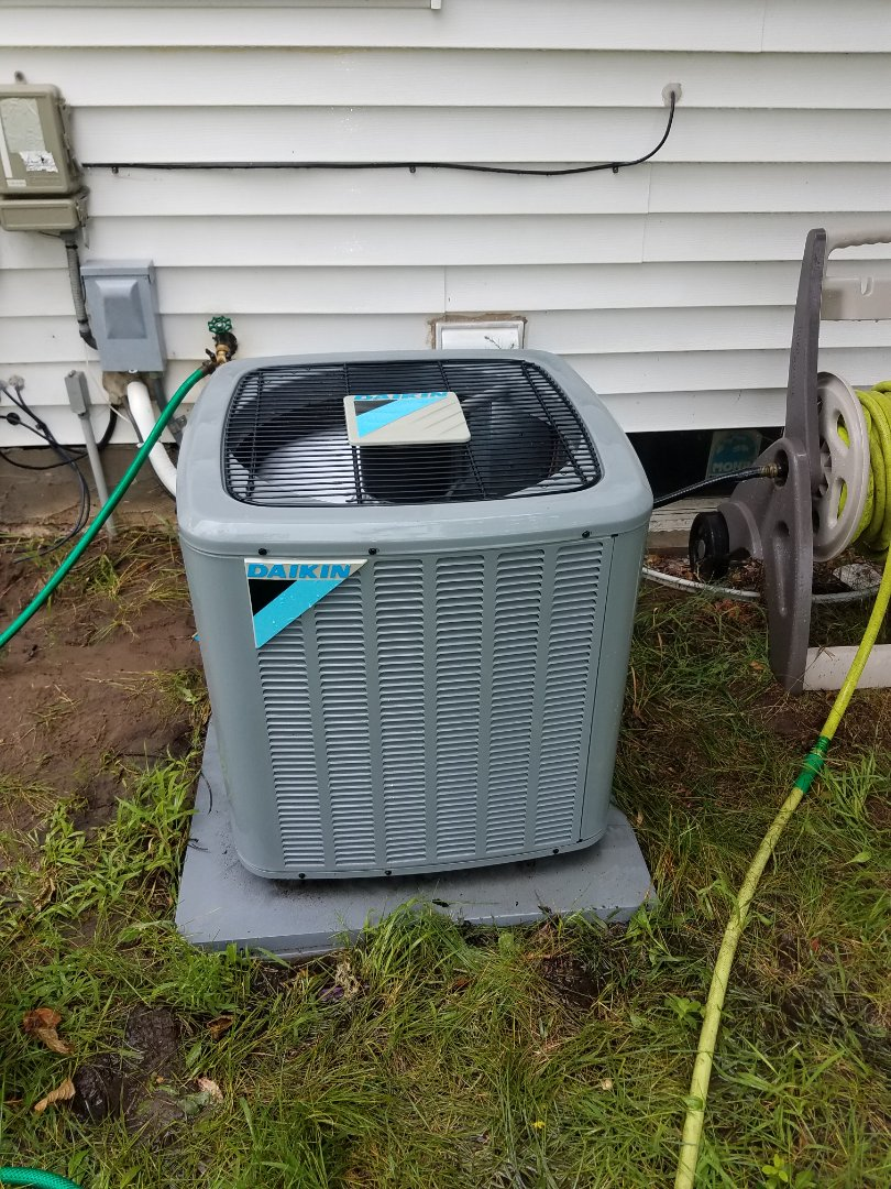 Elk River, MN - Air conditioning tune up and cleaning on daikin air conditioner