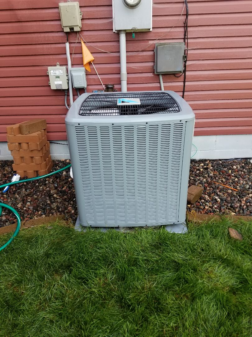 Albertville, MN - Air conditioning tune up and cleaning on daikin air conditioner