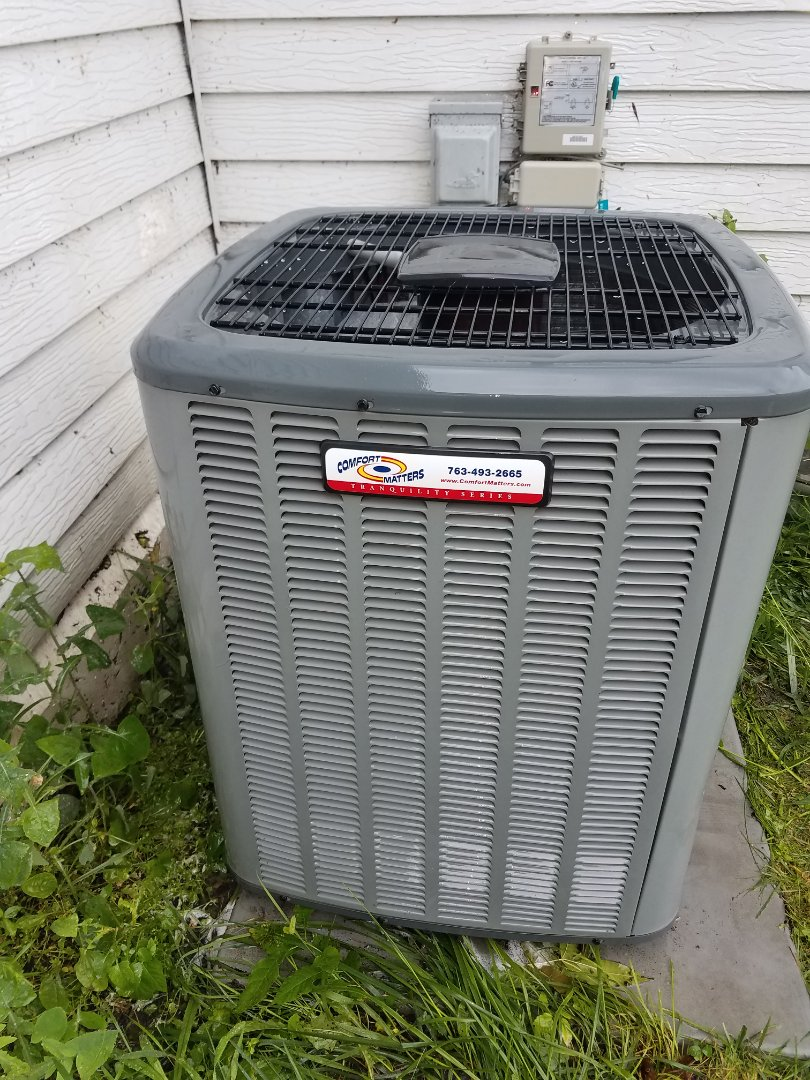 Maple Lake, MN - Air conditioning tune up and cleaning on amana air conditioner