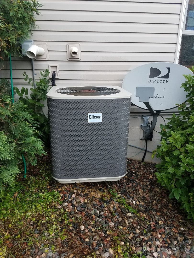 Elk River, MN - A/C tune up and clean on Gibson unit in Elk River