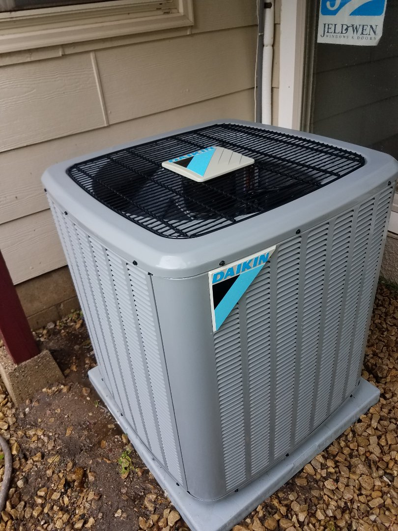Anoka, MN - Air conditioning tune up and cleaning on daikin air conditioner