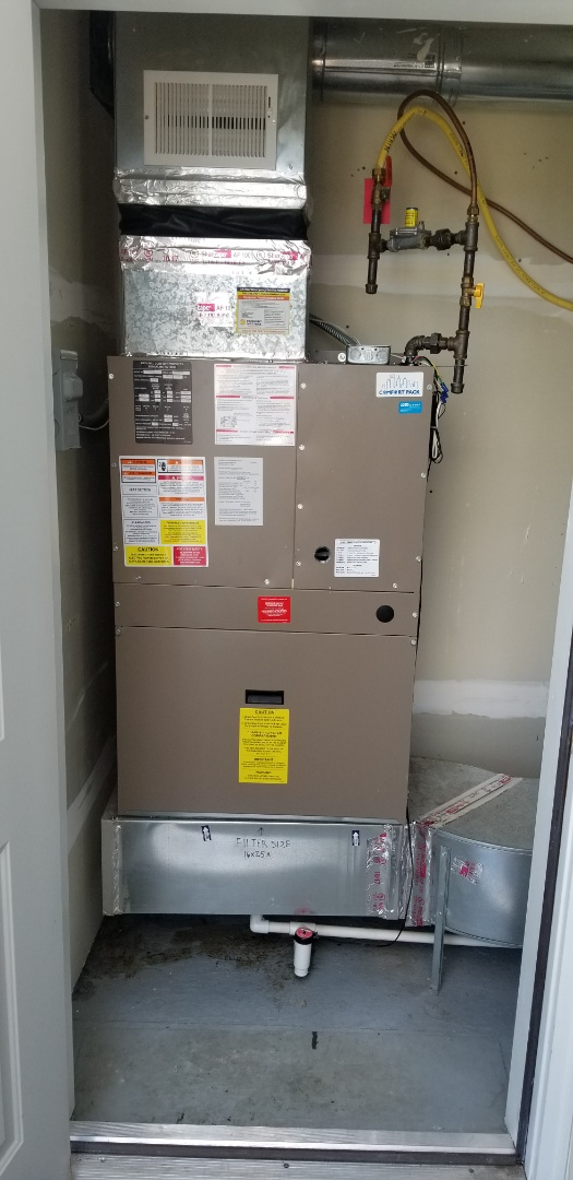 Osseo, MN - Installed a package unit